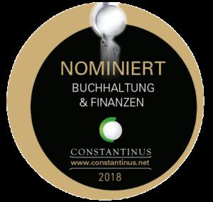 Nominierung Constantinus Award